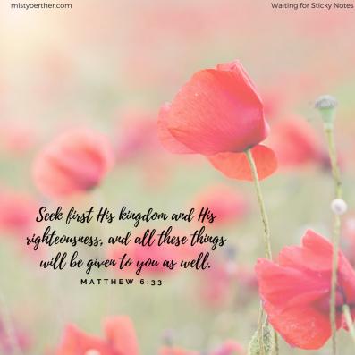Matthew 6_33