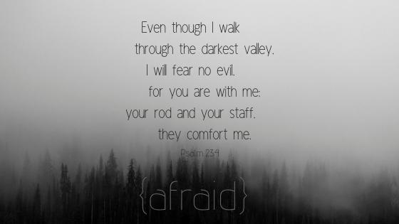 {afraid}Psalm