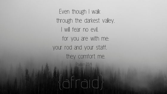 {afraid}Psalm