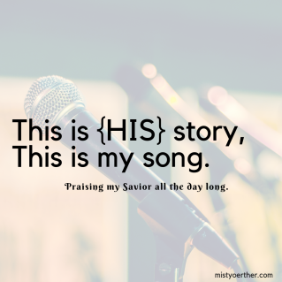 This is {HIS} story,